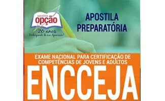 Apostila ENCCEJA 2020 - ENSINO FUNDAMENTAL