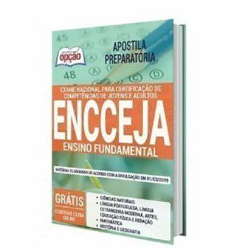 Apostila ENCCEJA 2020 - Material completo para o ENSINO FUNDAMENTAL